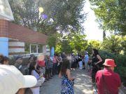 Ξενάγηση από την Κα Ν.Χατζηαθανασιάδου στο Βοτανικό Κήπο Σταυρούπολης