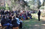 Ο κ.Νίκος Πάγκας καλοσώρισε εκ μέρους της Φιλοδασικής τους συνεργάτες του WWF στην Αθήνα