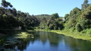 Η τεχνητή λίμνη στο φράγμα της Vallvidrera