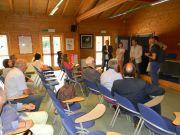 Στο Κέντρο Ενημέρωσης Επισκεπτών Oasi Lipu di Cesano Maderno