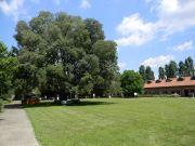 Η ανακαινισμένη φάρμα όπου στεγάζεται η διοίκηση του Πάρκου